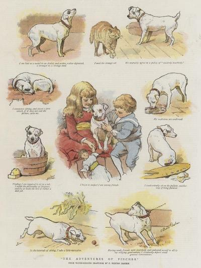 The Adventures of Pincher-Charles Burton Barber-Giclee Print