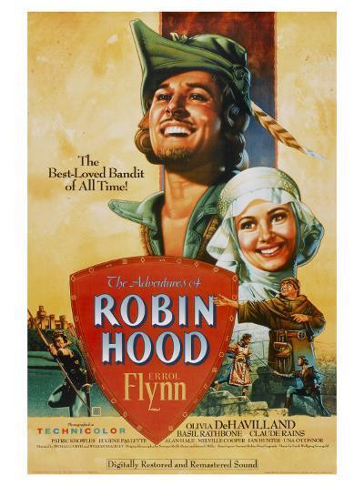 The Adventures of Robin Hood, 1938--Art Print