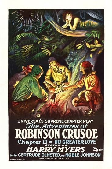 The Adventures of Robinson Crusoe--Art Print