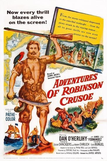 The Adventures of Robinson Crusoe--Art Print