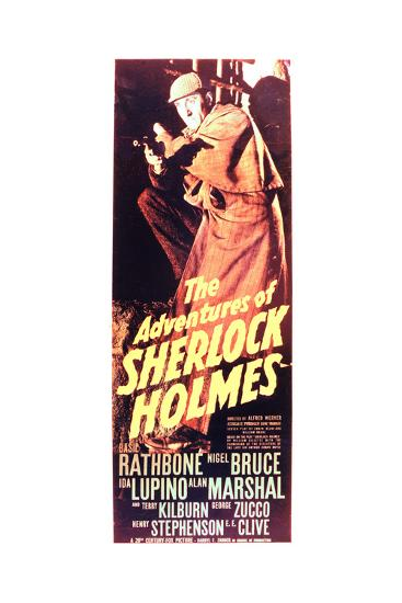 The Adventures of Sherlock Holmes--Art Print