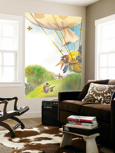 The Adventures of Ted, Ed and Caroll - Turtle-Valeri Gorbachev-Wall Mural
