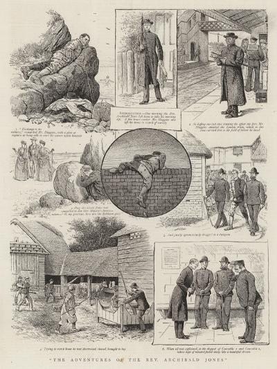 The Adventures of the Reverend Archibald Jones--Giclee Print