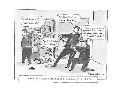 The Adventures Of Wren Tin Tin - New Yorker Cartoon-Danny Shanahan-Premium Giclee Print