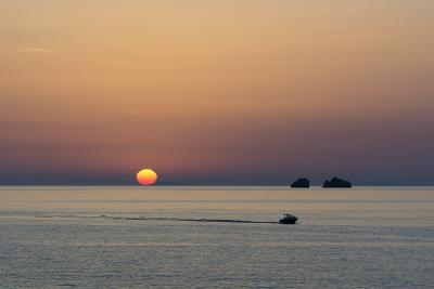 The Aegean Sea at Sunset from Parikia-Sergio Pitamitz-Photographic Print