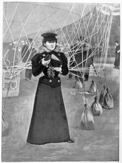 The Aero Club, Costume of a Female Ballooner, 15th November 1898--Giclee Print