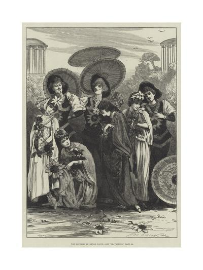 The Aesthetic Quadrille Party-Henry Stephen Ludlow-Giclee Print