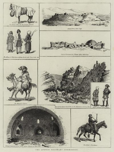 The Afghan Boundary Commission--Giclee Print