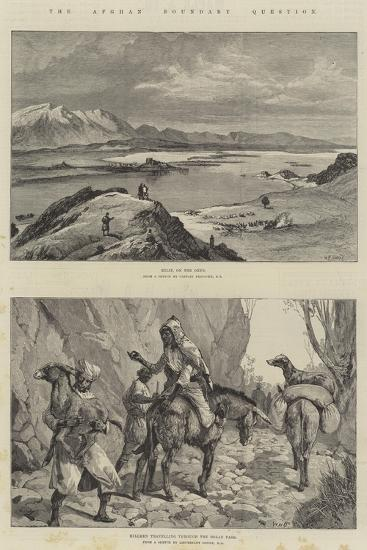 The Afghan Boundary Question-William Heysham Overend-Giclee Print