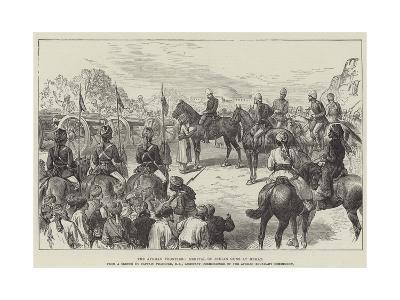 The Afghan Frontier, Arrival of Indian Guns at Herat--Giclee Print