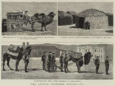 The Afghan Frontier Difficulty--Giclee Print