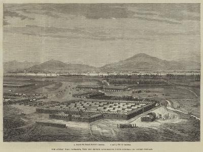 The Afghan War, Candahar, with the British Cantonments under General Sir Donald Stewart--Giclee Print