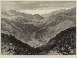 The Afghan War, Hill Near Gundamuk, Where the 44th Foot Made their Last Stand, January 1842