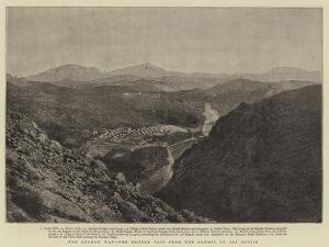 The Afghan War, the Khyber Pass from the Summit of Ali Musjid