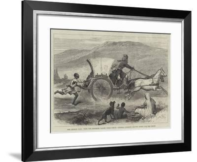The Afghan War, with the Khoorum Valley Field Force, General Roberts Leaving Kohat for the Front--Framed Giclee Print