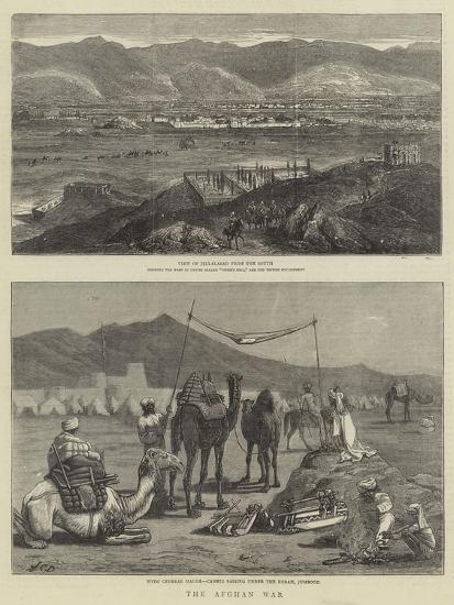 The Afghan War-John Charles Dollman-Giclee Print
