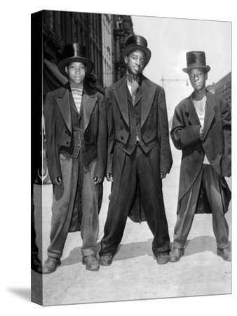 The African American Teenagers with Tuxedos and Top Hats During the August 1943 Riots in Harlem