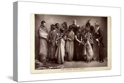 The African Native Choir, London, C.1892