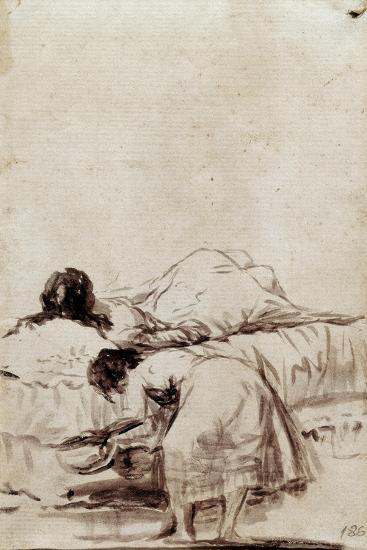 The Afternoon Nap-Francisco de Goya-Giclee Print