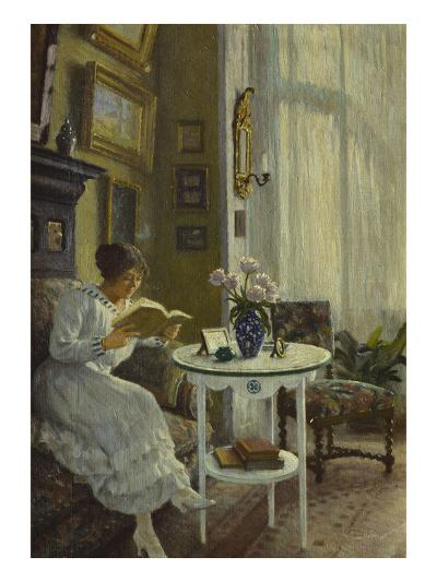 The Afternoon Read-Paul Fischer-Giclee Print