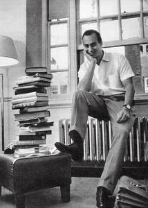 The Aga Khan While a Student at Harvard University, 1958