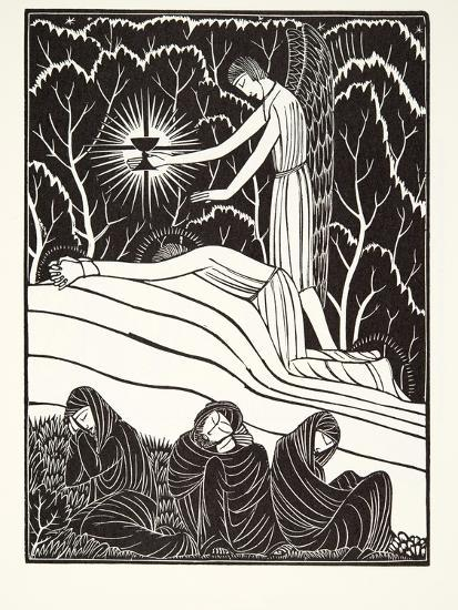 The Agony in the Garden, 1926-Eric Gill-Giclee Print