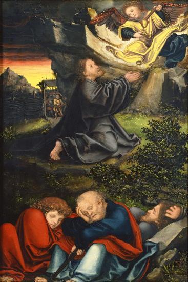 The Agony in the Garden, Ca 1518-Lucas Cranach the Elder-Giclee Print