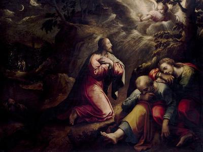 The Agony In the Garden, First Quarter 17th Century, Italian School-Giorgio Vasari-Giclee Print
