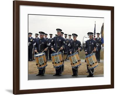 The Air Force Honor Band-Stocktrek Images-Framed Photographic Print