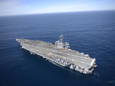 The Aircraft Carrier USS Carl Vinson in the Pacific Ocean-Stocktrek Images-Photographic Print
