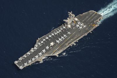 The Aircraft Carrier USS Dwight D. Eisenhower--Photographic Print