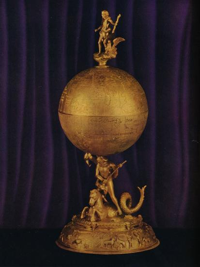 'The 'Airthrey' Gold Globe Cup: South German', c1560-1565, (1936)-Unknown-Photographic Print