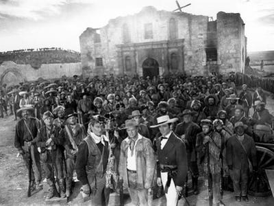 The Alamo, John Wayne, Richard Widmark, Laurence Harvey, 1960