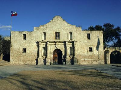The Alamo, San Antonio, Texas, USA-Walter Rawlings-Photographic Print