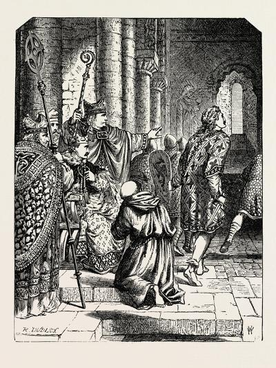 The Alarm at William's Coronation--Giclee Print