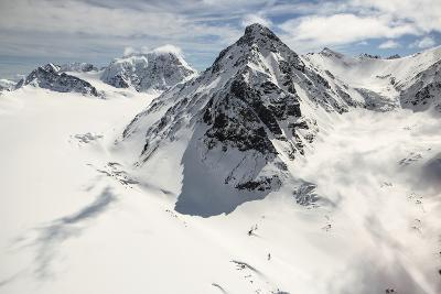 The Alaska Range in Denali National Park-Aaron Huey-Photographic Print