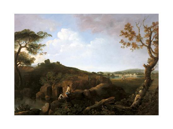 The Alban Hills-Richard Wilson-Giclee Print