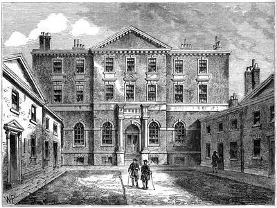 The Albany, London, 1805--Giclee Print