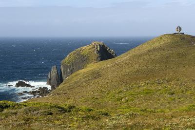 The Albatross Monument at Cape Horn, Isla De Cabo De Hornos, Tierra Del Fuego, Chile, South America-Tony Waltham-Photographic Print