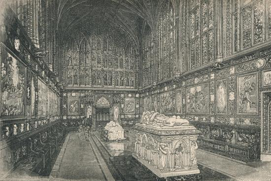 'The Albert Chapel', 1895-Unknown-Giclee Print