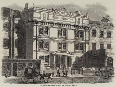 The Albert Institution, Gravel-Lane, Blackfriars-Road--Giclee Print