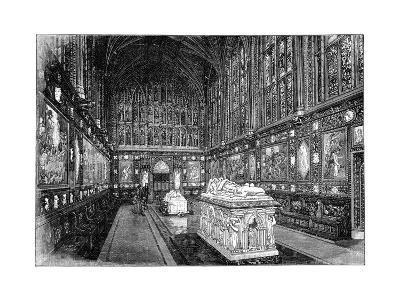 The Albert Memorial Chapel, Windsor, 1900-GW and Company Wilson-Giclee Print