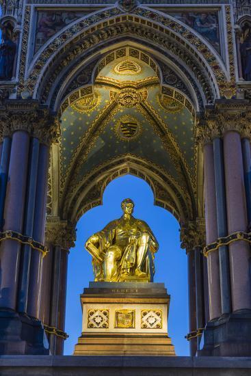 The Albert Memorial in Kensington Gardens at Sundown, London, England, United Kingdom, Europe-Michael Nolan-Photographic Print