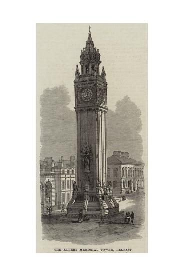 The Albert Memorial Tower, Belfast--Giclee Print