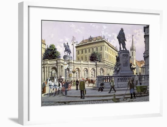 The Albertina, Vienna-Richard Pokorny-Framed Giclee Print