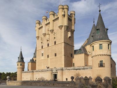 The Alcazar, Segovia, Spain-Walter Bibikow-Photographic Print
