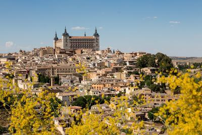 The Alcazar Towering Above the Rooftops of Toledo, Castilla La Mancha, Spain, Europe-Martin Child-Photographic Print