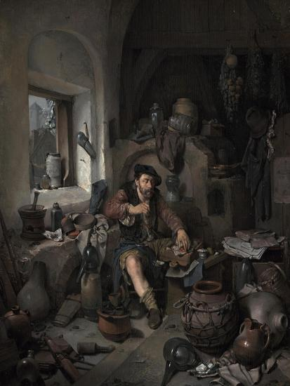 The Alchemist, 1663-Cornelis Bega-Giclee Print