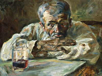 The Alcoholic, Father Mathias-Henri de Toulouse-Lautrec-Giclee Print