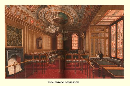The Aldermens Court Room, 1886-Unknown-Giclee Print